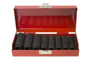 "3/8"" Drive Metric Deep Impact Socket Set 8-19mm ( 8pcs ) 2.5"" deep (JQ-65-38-8set)"