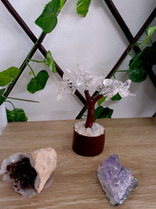 Small Clear Quartz Crystal Tree