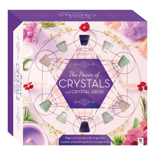 The Power of Crystals and Crystal Grids - Box Set