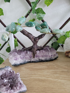 Green Aventurine Bonsai Tree