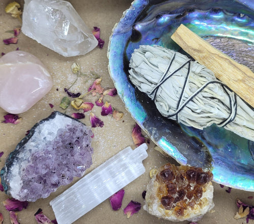 The Essential Crystal & Spiritual Healing Kit