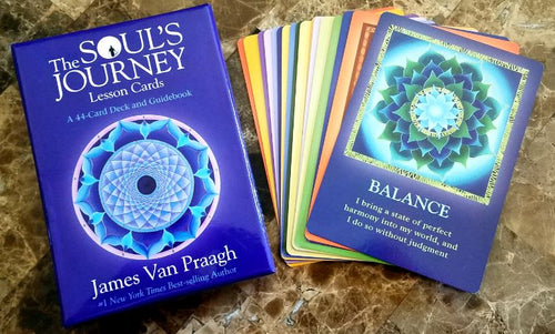 The Soul's Journey Lesson Cards: A 44-Card Deck and Guidebook Cards