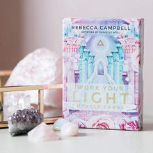 Load image into Gallery viewer, Work Your Light Oracle Cards Cards By Rebecca Campbell