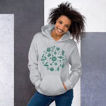 Load image into Gallery viewer, Unisex Hoodie: Green Magic