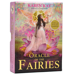 Oracle of the Fairies: A 44-Card Deck and Guidebook Cards
