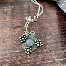 Load image into Gallery viewer, Moon & Stars Pendant