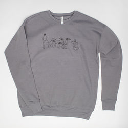 Human Heart Sweatshirt (grey)