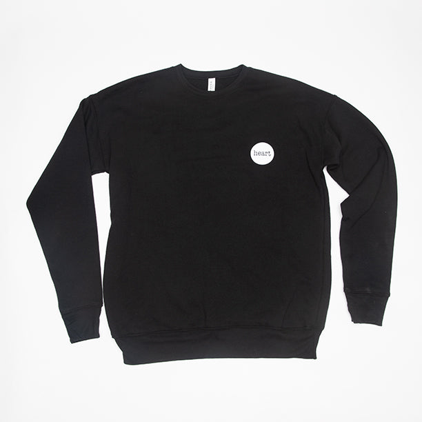 Heart Logo Sweatshirt (black)
