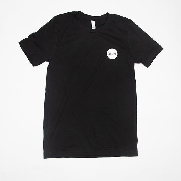 Heart Logo T-Shirt (black)