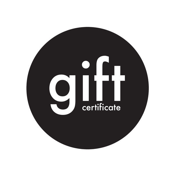 Gift Certificate (online purchases only)