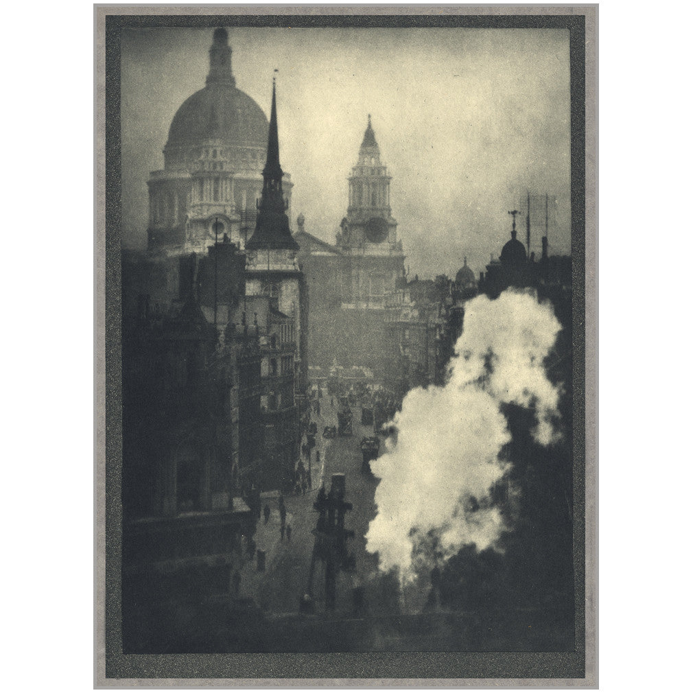 St. Paul's from Ludgate Circus by Alvin Langdon Coburn