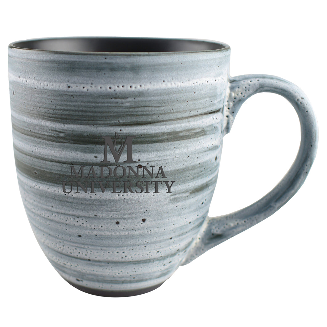 LXG Swirl Ceramic Mug, Grey