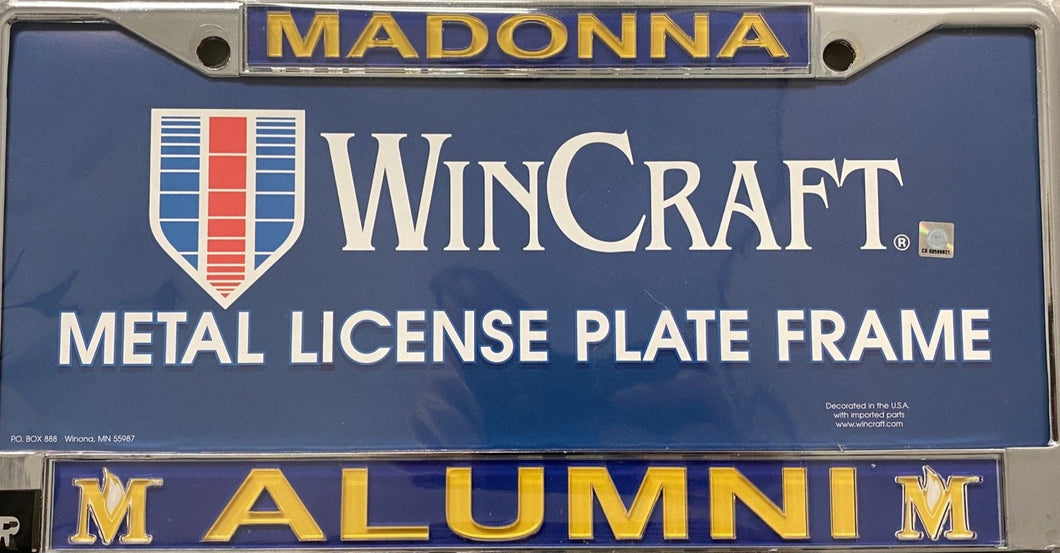 Royal License Plate Frame, Alumni
