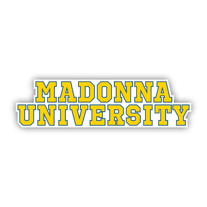 Madonna Stacked Decal -D6