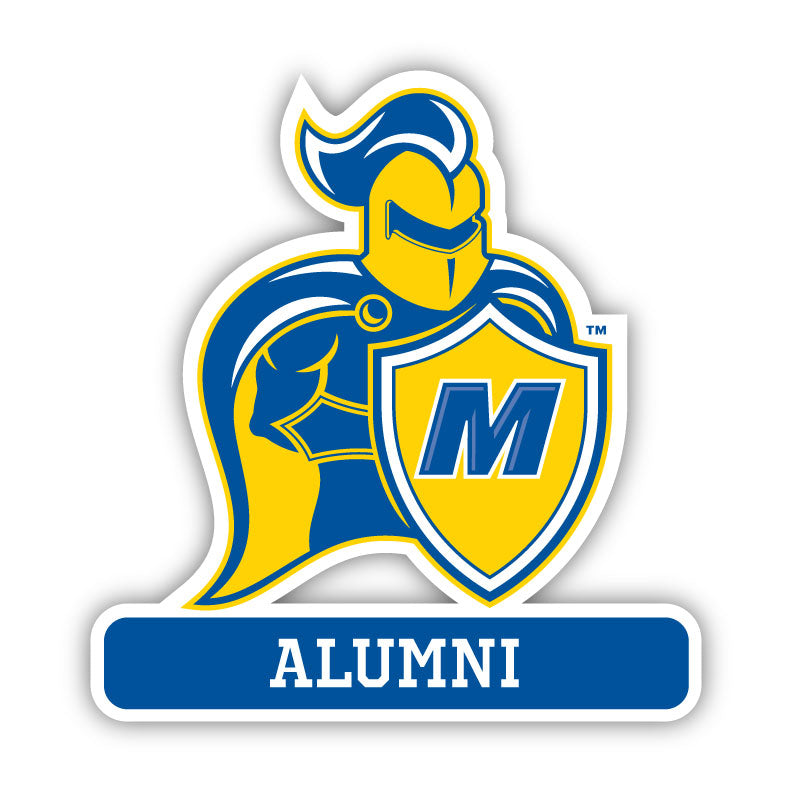 Madonna Alumni Decal -M3