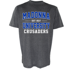 Name Drop Crusaders Tee, Graphite