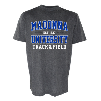 Name Drop Track & Field Tee, Graphite