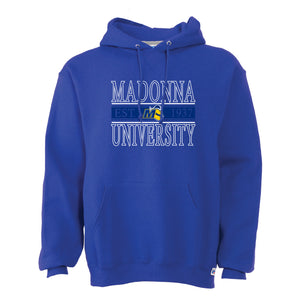 Russell Men's 50/50 Fleece Pullover Hoodie, Royal