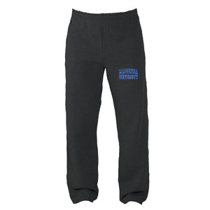 Russell Men's 50/50 Open Bottom Sweatpants, Graphite