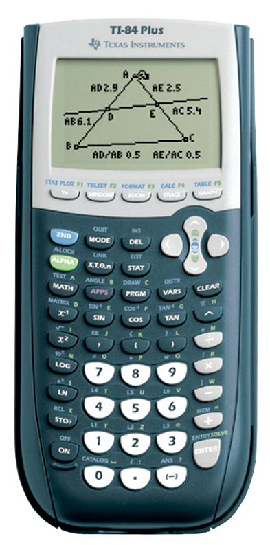 TI-84 Plus Graphing Calculator