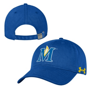 Under Armour Garment Washed Slouch Adjustable Hat, Blue