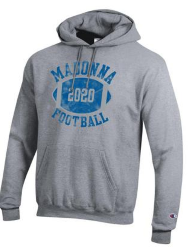 Champion Football Powerblend Hood, Grey