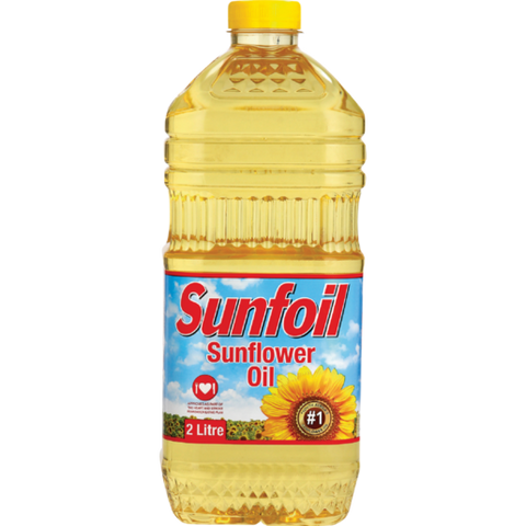 Sunfoil Pure Sunflower Seed Oil 2L