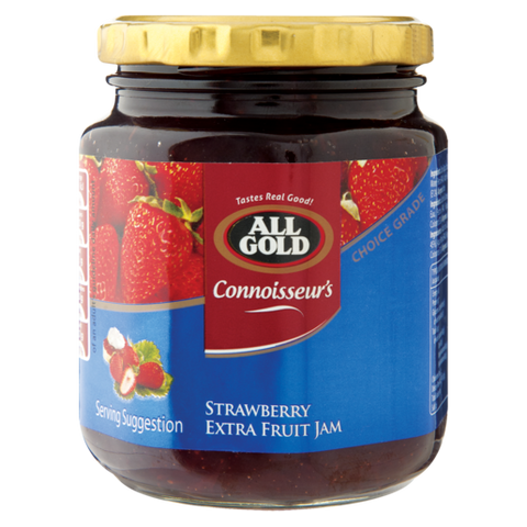 All Gold Strawberry Extra Fruit Jam Jar 320g