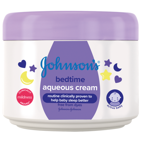 Johnson's Baby Bedtime Aqueous Cream 250ml