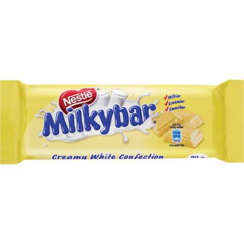 Nestlé Milkybar Chocolate Slab 80g
