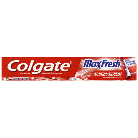 Colgate Max Fresh Toothpaste With Cooling Crystals 75ml