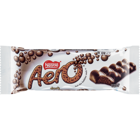 Nestlé Aero Dark Chocolate 40g