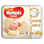 Huggies Gold New Baby Diapers 24 Pack
