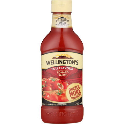 Wellingtons Tomato Sauce (700ml)