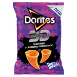 Doritos 3D Cajun Flavoured Corn Snack Bugles 100g