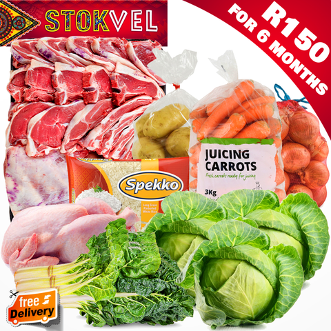 Stokvel Mutton & Veg Starter Package (6 Monthly Payments)