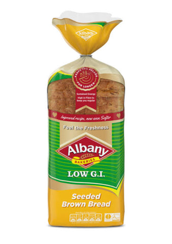 Albany Superior Low G.I. Seeded Brown Bread 700g