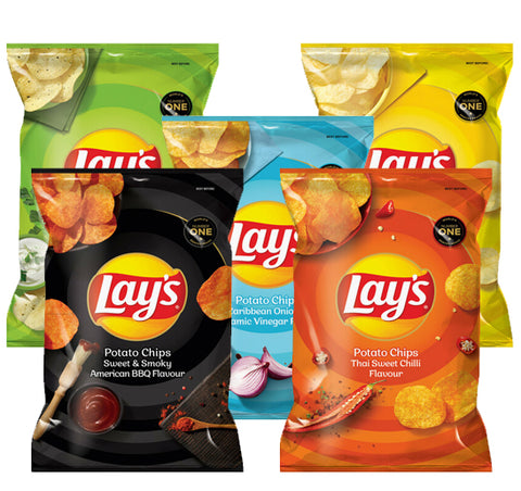 Lays Potato Chips 120g - 5 For R85