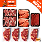 Braai Meat Monthly Subscription