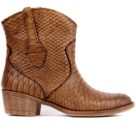 Sail Lakers-Genuine Leather Women Ankle Boots