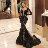 Long Sleeve Formal Evening Glam Dress