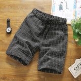 Men's Chequered Shorts