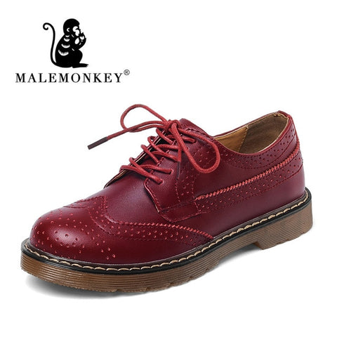 Women's Oxford Loafers Shoes