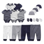 Baby Boy Clothes Bodysuits+Pants+Hats+Gloves