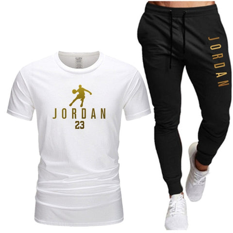 Men's Jordon Fitness Shirt & Pants Set