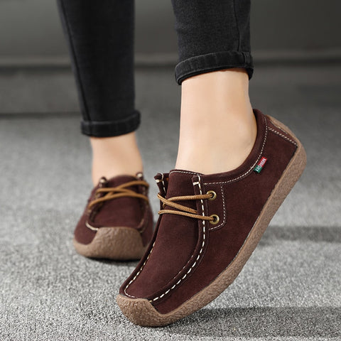 Women's Casual Lace Up Shoes