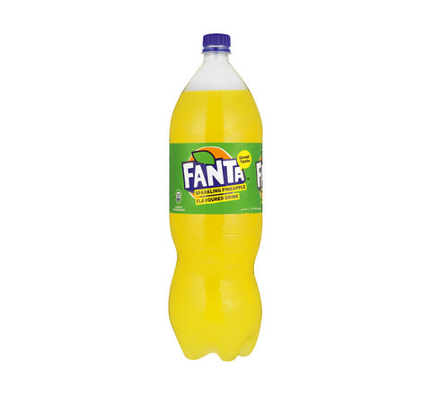 Fanta Soft Drink Pineapple (1 x 2l)