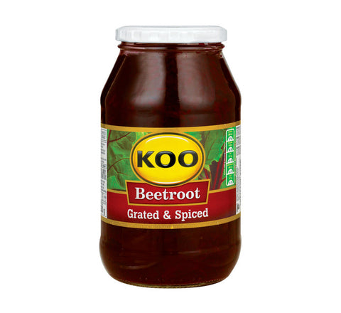 KOO Beetroot Grated Jars (1 x 780g)