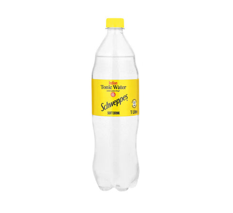 Schweppes Soft Drink Tonic (1 x 1l)