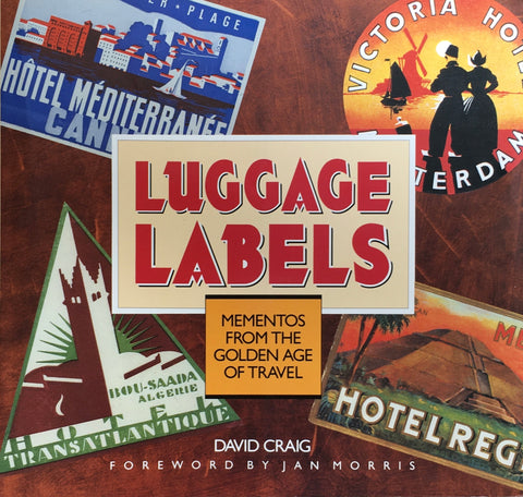 Luggage Labels  David Craig